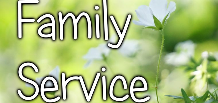 Family service (29 March 2020). Please click watch for video