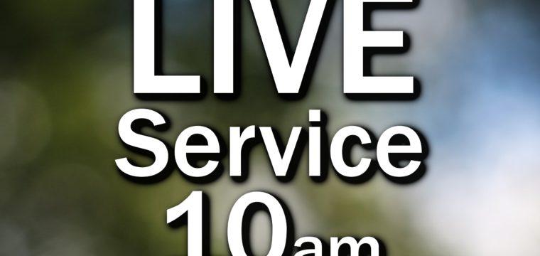 10am Live Service 15 November 2020